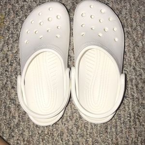 white crocs